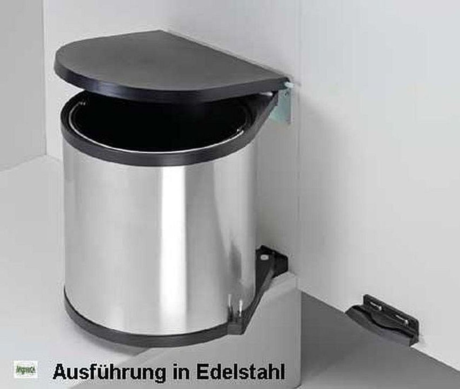 fabulous wesco edelstahl bad kche with wesco mlleimer trennsystem with treteimer kche