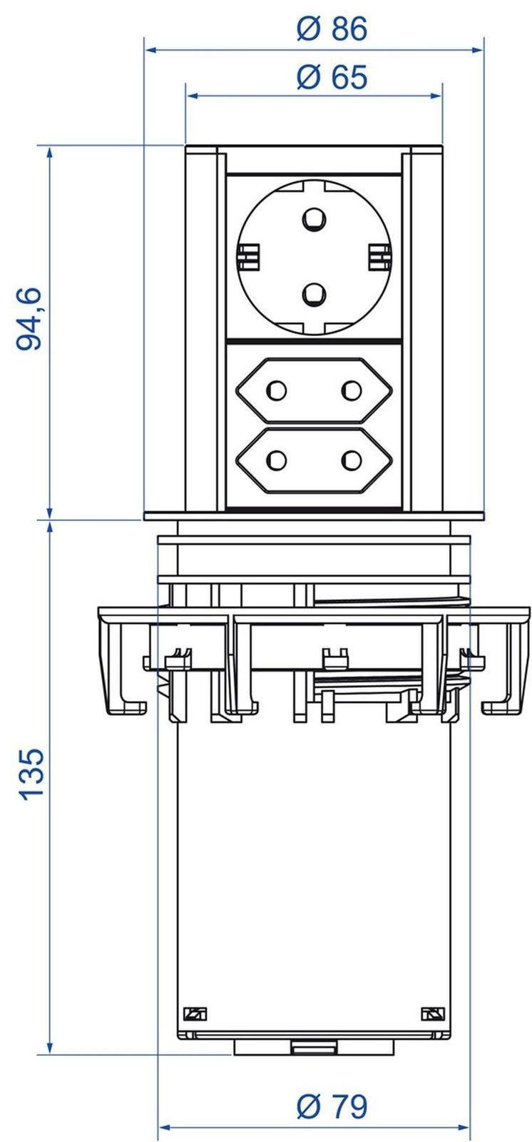 Höhe Steckdosen Küche | Hohe Steckdosen Kuche Mobel Ideen Und Innenarchitektur