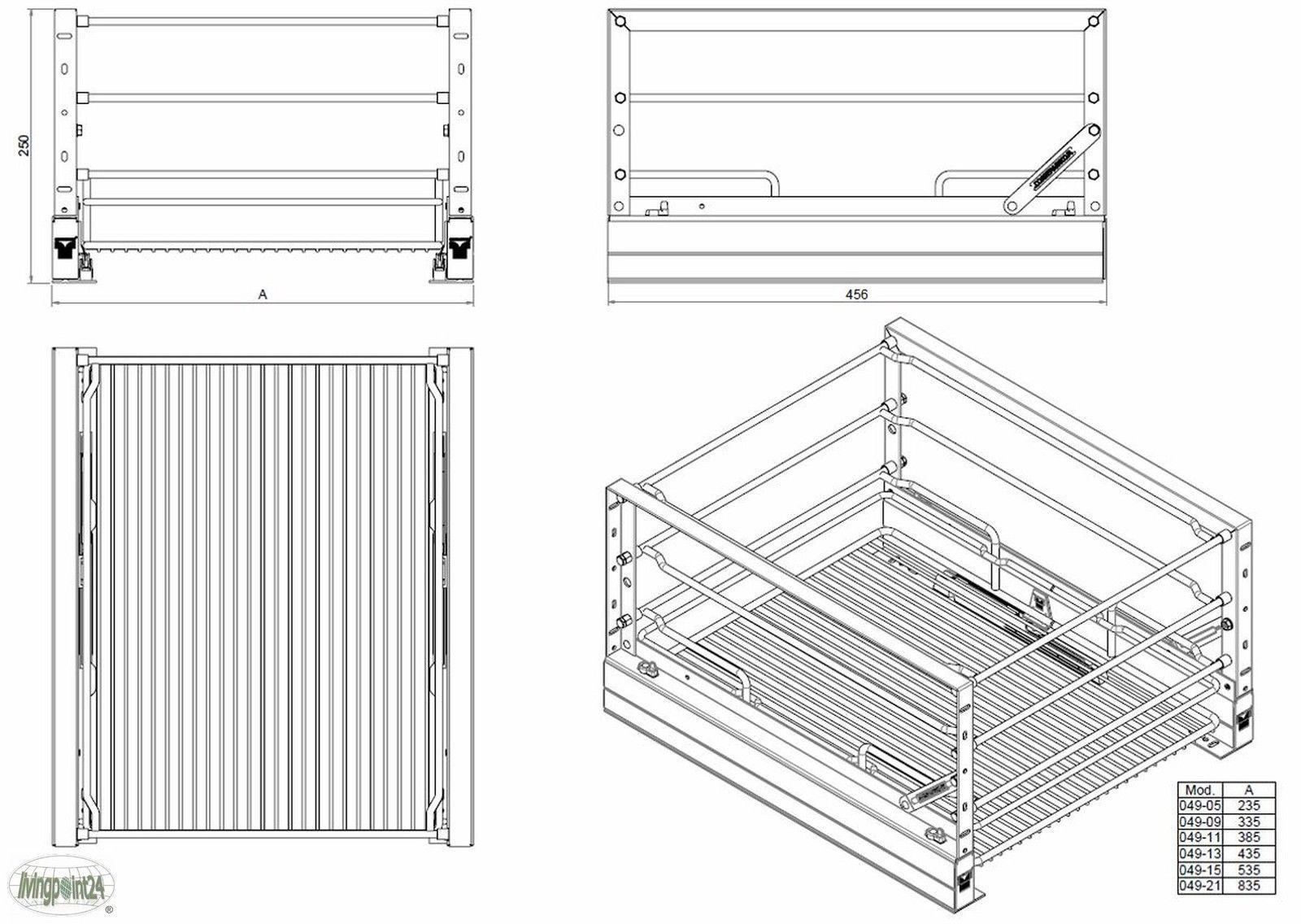 Schrankauszug Küche Nachrüsten – DesignKuche