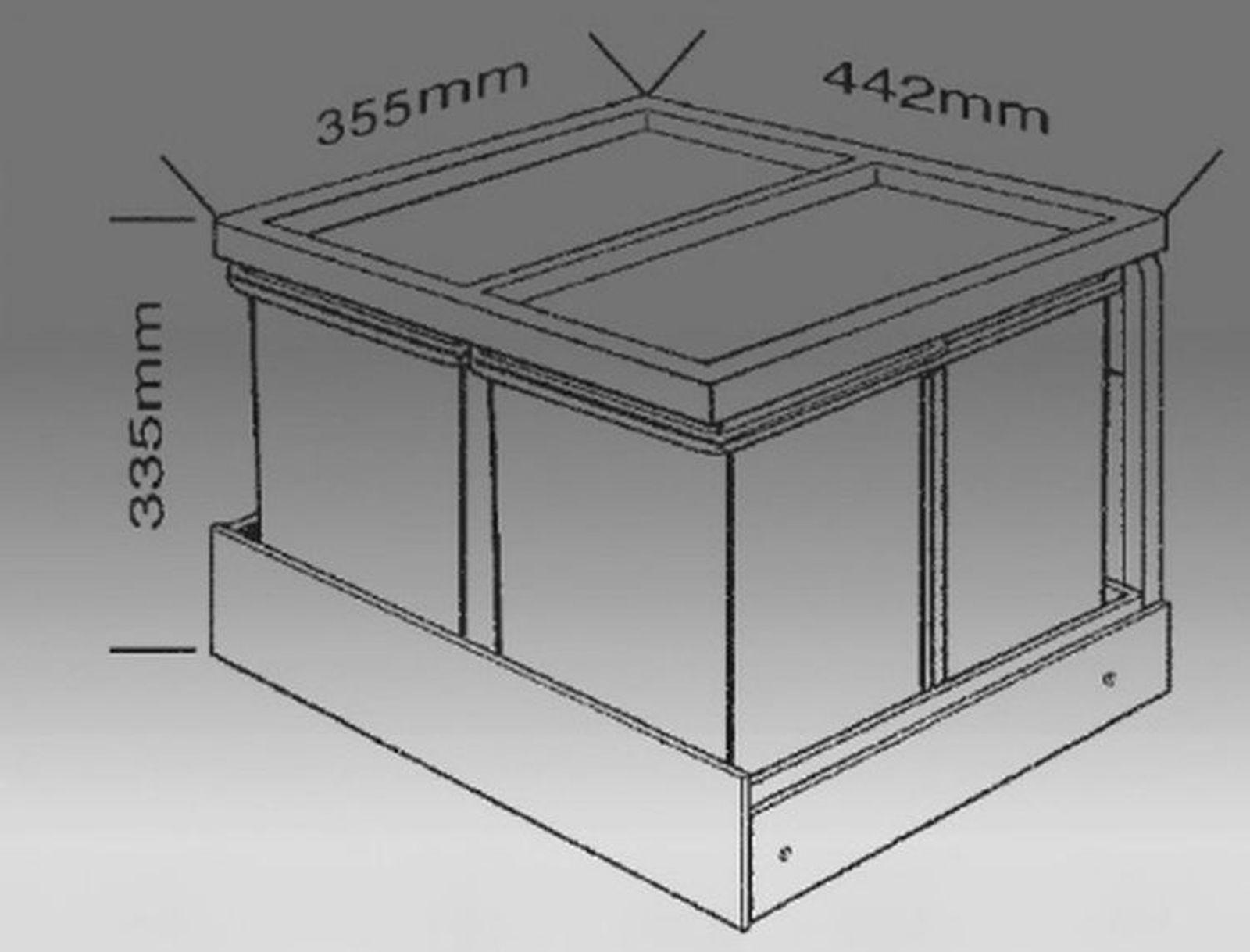 mlltrenner kche elegant elegant awesome er set kche ohne. Black Bedroom Furniture Sets. Home Design Ideas