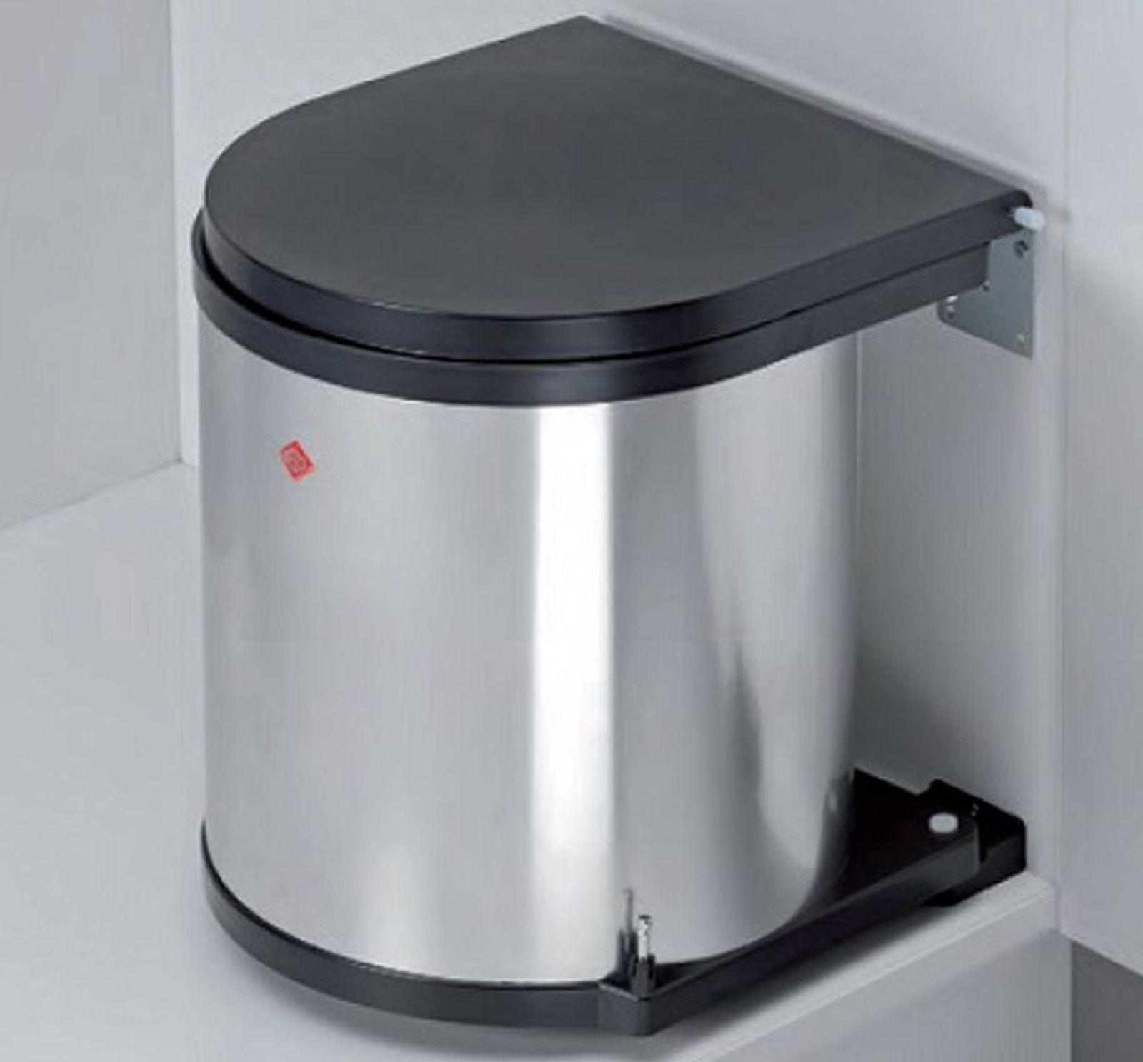 Wesco Edelstahl Küchen Abfalleimer 11 13 15 Liter