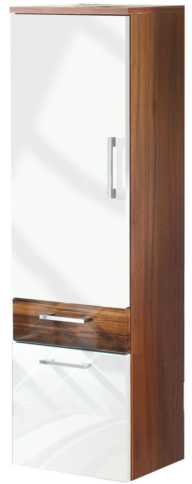 badezimmer hochschrank 40 x 134 5 x 30 cm badschrank badm bel 5805 91 lp kaufen bei. Black Bedroom Furniture Sets. Home Design Ideas