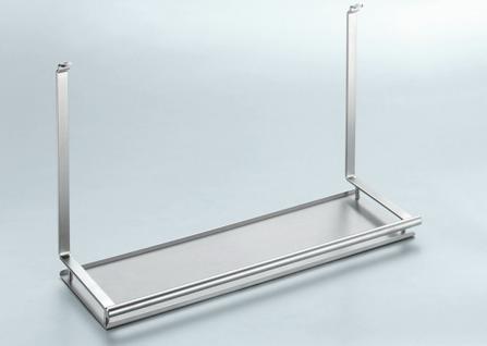 Küchenablage Universalablage Küchenreling Linero 2000 Edelstahloptik *521319