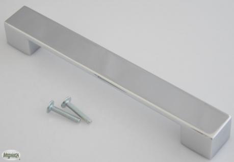 Schubladen Tür Küchengriff BA 160 mm Chrom glänzend Schrank Möbelgriff *626-04