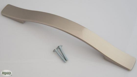 Tür Bügel Bogen-/Möbelgriff BA 160 mm Schrank-/Küchengriff Edelstahloptik *633
