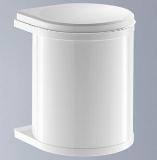 Hailo Mono Mülleimer Küche 12 Liter Abfalleimer Badezimmer Kosmetikeimer *515981