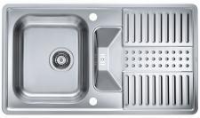 Alveus Küchenspüle 880x500mm Einbauspüle Pixel 30 Spüle mit Drehexcenter*1085967