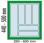 Dirks 45-er Besteckeinsatz Schubladeneinsatz Besteckkasten Einsatz kürzbar 41923