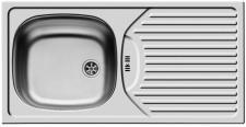 Einbauspüle Edelstahl 860x435mm Küchenspüle Spülbecken Edelstahlspüle *509713