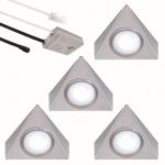 LED Unterbauleuchte 2, 7W Set Lichtfarbe regelbar 4-er Set Küchenleuchte *552481