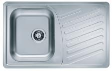 Alveus Einbauspüle 810x510mm Küchenspüle Edelstahlspüle Spülbecken *Elegant 30-J
