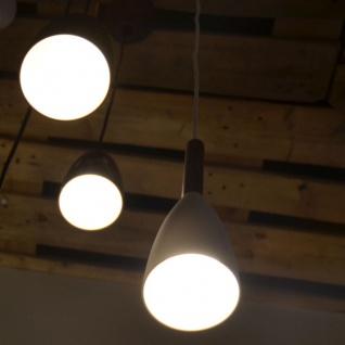 Licht-Trend Balanda Hängeleuchte Ø 10 cm mit Holz, schwarz - Vorschau 5