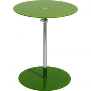 s.Home Tisch 40 cm höhenverstellbar / Grün / Tische