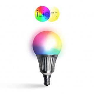 iLight E14 LED Glühbirne 5 Watt / RGBW Farbwechsel / Wifi Steuerung iPhone/iPad / LED-Lampe