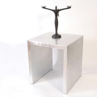 Beistelltisch akazienholz g nstig kaufen bei yatego for Beistelltisch kernbuche 50x50