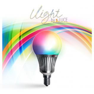 iLight E14 LED-Leuchtmittel 5W / RGBW WiFi Steuerung iPhone/iPad / LED-Lampe - Vorschau 1
