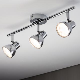 Paulmann Spotlight Cup LED 3x4, 6W Chrom 230V Kunststoff /