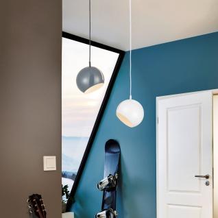 s luce ball pendelleuchte verstellbar 20 cm h ngelampe pendellampe grau kaufen bei. Black Bedroom Furniture Sets. Home Design Ideas