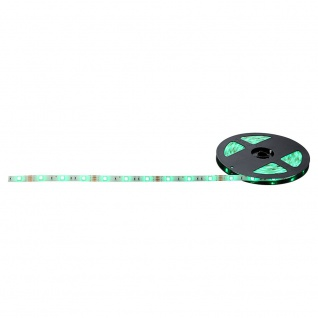 Cassandra / LED-Strip RGB 5m Set / 24W / inkl. Fernbedienung / LED-Strips