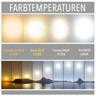 Licht-Design 30567 Einbau LED-Panel 1440 Lumen / Ø 22 cm / Kalt / Silber - Vorschau 2