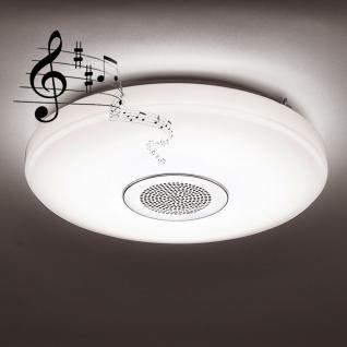 Paul Neuhaus 8082-16 Pelvo LED Deckenleuchte + Bluetooth-Lautsprecher / 45W / 2700-5000K / Weiss
