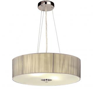 S luce twine m textil h ngeleuchte h ngelampe stofflampe for Stofflampe decke
