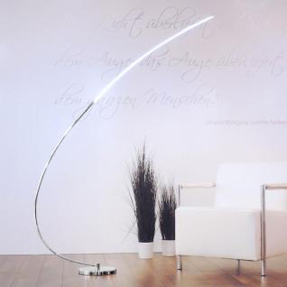 LeuchtenDirekt 11550-17 Chromo Stehleuchte / 12W LED / 150cm / Chrom
