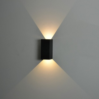 Nordlux Norma / LED Aussen-Wandleuchte / 2 x 167 Lumen / grau / Wandlampe - Vorschau 5
