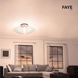 Grossmann 71-776-072 Faye XXL LED Wand- oder Deckenleuchte Ø 100 cm / Alu-matt