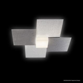 Grossmann 51-770-072 Creo LED-Deckenleuchte 1-flammig / 27 x 27 cm / Alu-matt