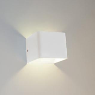 s.LUCE Gore LED Wandleuchte Up & Down / Wandlampe Wandleuchte weiss