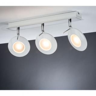 Paulmann Spotlight Orb Balken 3x3W Weiß Chrom 230V Metall /