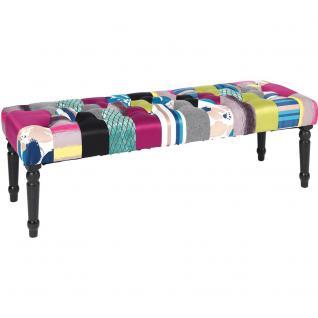 s.Home Patchwork / Bank 120 cm / Pink / Sitzmöbel
