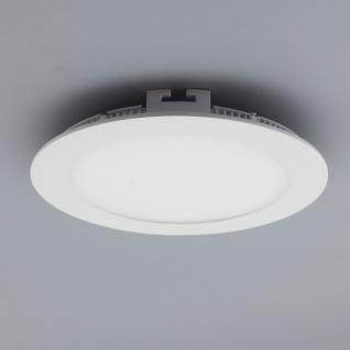 Licht-Design 30400 Einbau LED-Panel 960 Lumen Dimmbar / Ø 17 cm / Warm / Weiss - Vorschau 1