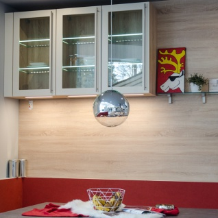 s.LUCE Fairy / Spiegelkugel Pendelleuchte / Restaurant- & Hotelbeleuchtung - Vorschau 2