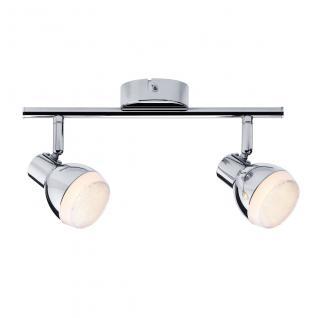 Paulmann Spotlight Gloss LED 2x4, 6W Chrom 230V Kunststoff /
