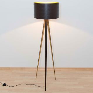 stehleuchte schwarz gold g nstig kaufen bei yatego. Black Bedroom Furniture Sets. Home Design Ideas