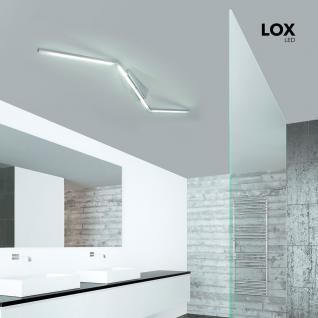 Grossmann 76-768-072 Lox LED-Deckensystem 142 cm / 4080 Lumen / Alu-matt