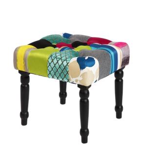 s.Home Patchwork / Hocker / Pink / Sitzmöbel