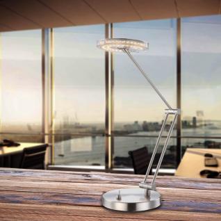 Licht-Trend Erinyen / LED-Tischlampe / 290 lm / nickel-matt / Tischlampe