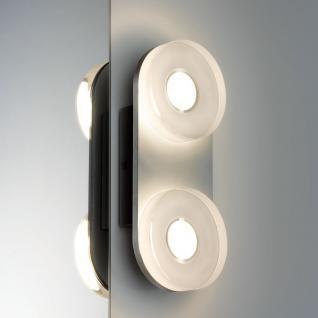 Paulmann WallCeiling rund Tucana IP44 LED 1x9W Alu eloxiert/Klar 230V Metall/Acryl /