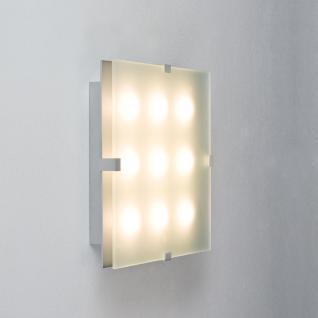 Paulmann WallCeiling Xeta 24W LED 300x300mm Chrom matt 230V Metall/Glas /