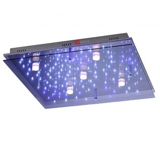 Paul Neuhaus 6424-17 Night Sky II Deckenlampe / LED Sternenhimmel / 65x65 cm