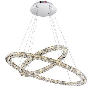 LED Hängeleuchte MARILYN, chrom 64xLED / Hängelampe