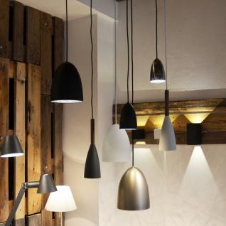 Licht-Trend Balanda Hängeleuchte Ø 10 cm mit Holz, schwarz - Vorschau 4