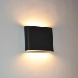 au en wandleuchte anthrazit g nstig online kaufen yatego. Black Bedroom Furniture Sets. Home Design Ideas