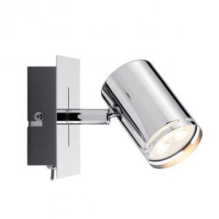 Paulmann Spotlight Rondo LED Balken 1x3, 5W GU10 Chrom 230V Metall /