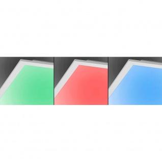 Paul Neuhaus 8086-16 Q-Flag LED Deckenleuchte + Fb. / 25W / RGB, 3000K / Weiss - Vorschau 5