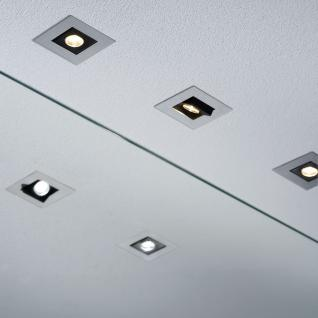 Paulmann Premium EBL Set Cardano LED 3x(1x1W) 230V Chrom matt/Alu /