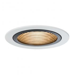 Paulmann Premium EBL Set Daz starr LED 3x5, 6W 30VA 230V/700mA 110mm Weiß/Schwarz Metall /